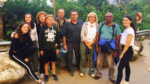 Ignacio family and Nicolau family