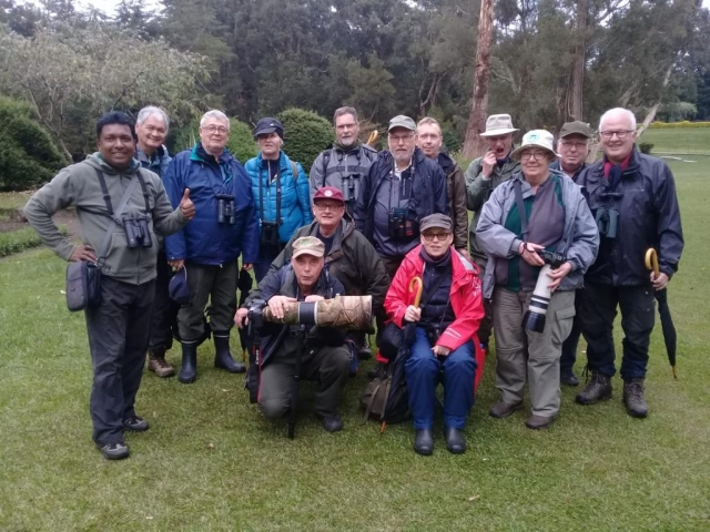DOF Group with top tour guide Saman Weediyabandara