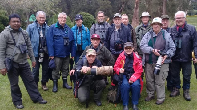 Peter Lafrenz and DOF Group with top tour guide Saman Weediyabandara